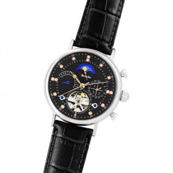 Мужские Часы Brücke J025 Black-Silver