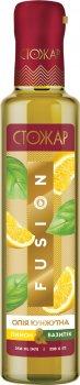 Масло кунжутное Стожар Fusion Лимон-базилик 250 мл (4820078577305)