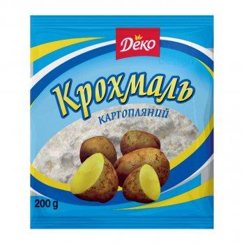Кондитерские ингредиенты Крахмал картофельный Деко 200г