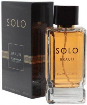 Туалетная вода для мужчин Art Parfum Solo Braun Аналог Parfums De Marly Herod 100 мл (3770004118946)