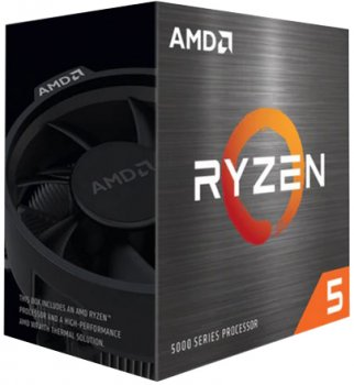 Процесор AMD Ryzen 5 5600X 3.7 GHz / 32 MB (100-100000065BOX) sAM4 BOX