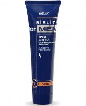 Антимикробный крем для ног Bielita for men Белита для мужчин 100 мл (4899151011437)