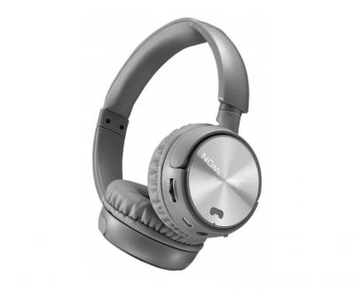 Беспроводные Bluetooth наушники Nomi NBH - 470 Светло-Серые