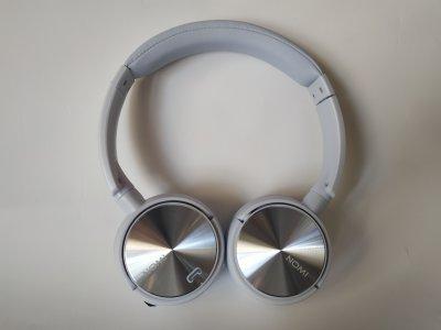 Беспроводные Bluetooth наушники Nomi NBH - 470 Lavander Blue Сиренево-Голубой