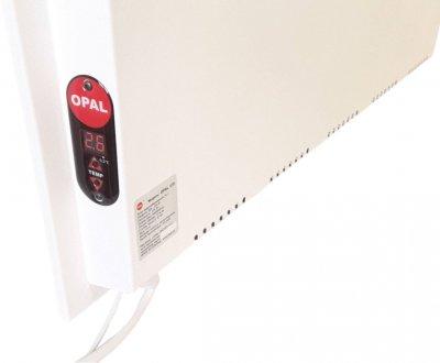 Керамічний обігрівач з терморегулятором OPAL 375 Climat. Білий