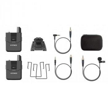 Профессиональный микрофон беспроводной для телефона камеры Synco WMic-T1 для смартфонов камер