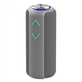 Музыкальная колонка Hopestar P30 pro Bluetooth портативная беспроводная - Переносная блютуз акустическая USB система –TWS + водонепроницаемый корпус с мощным аккумулятором для улицы и дома, Grey