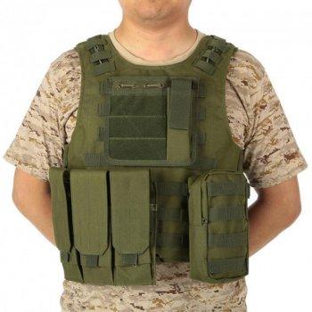 Жилет тактичний військовий HLV A56 Olive