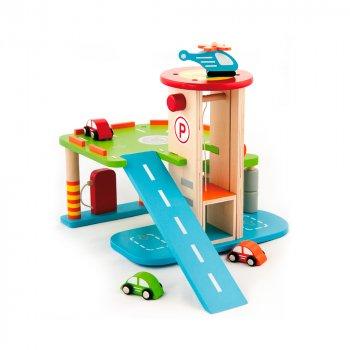 Ігровий набір Viga Toys Гараж 59963
