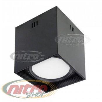 Світильник стельовий світлодіодний LED Horoz Electric SANDRA-SQ10/XL 10Вт (~80Вт) 220В 4200K Чорний (016-045-1010)