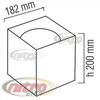 Світильник стельовий світлодіодний LED Horoz Electric SANDRA-SQ15/XL 15Вт (~120Вт) 220В 4200K Чорний (016-045-1015)