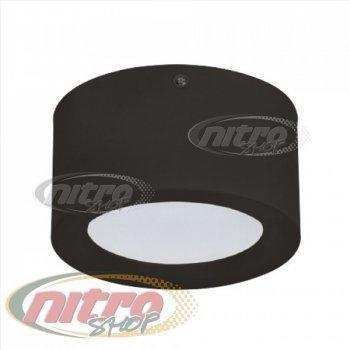 Світильник стельовий світлодіодний LED Horoz Electric SANDRA-10 10Вт (~80Вт) 220В 4200K Чорний (016-043-0010)