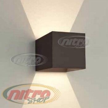 Світильник Світлодіодний Бра LED Horoz Electric SISAM 8Вт (~48 Вт) 220В 4200K Чорний (029-006-0008)
