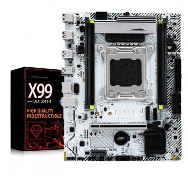 Материнська плата Jingyue X99M Plus (s2011-3, Intel X99, PCI-Ex16)