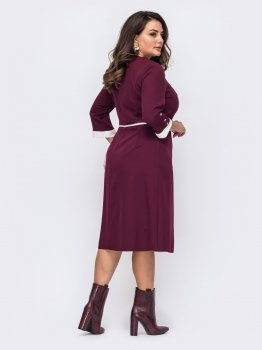Плаття Dressa 51508 Бордо