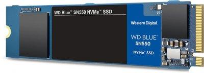 Western Digital Blue SN550 NVMe SSD 250GB M.2 2280 PCIe 3.0 x4 3D NAND (TLC) (WDS250G2B0C)