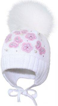 Зимняя шапка David's Star 16306 46 Молочная (ROZ6400024559)