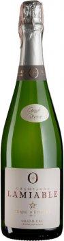Шампанське Lamiable Terre d`Etoiles Brut Grande Reserve Grand Cru біле брют 0.75 л 12.5% (3760164320051)