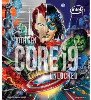 Процесор Intel Core i9-10850K 3.6 GHz / 8 GT / s / 20 MB (BX8070110850KA) s1200 Marvel's Avengers Collector's Edition BOX
