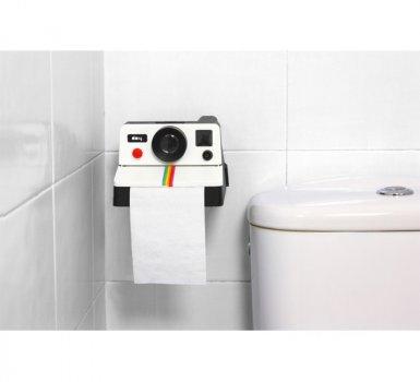 Підставка для туалетного паперу Polaroll camera Arivans 18х10х15 см різнобарвний 25896