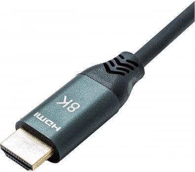 Кабель XoKo HC-100 HDMI — HDMI 8K 2.1 3 м Чорний (HC-100-3)