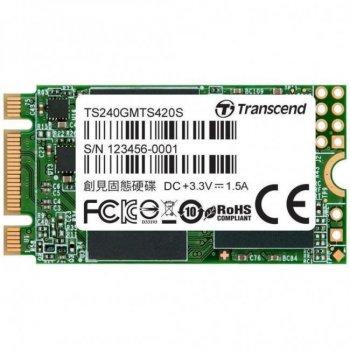 Накопичувач SSD M. 2 2242 240GB Transcend (TS240GMTS420S)