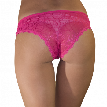 Трусики женские Бразилиана кружевные Nicoletta 91405-pink