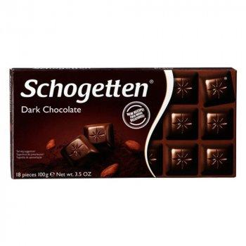 Шоколад чорний Schogetten Dark Chocolate 100 г