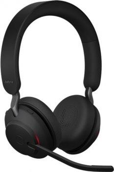 Наушники Jabra Evolve 2 65, Link380a MS Stereo Black (26599-999-999)