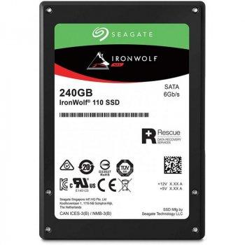 "Накопичувач SSD 240GB Seagate IronWolf 110 2.5"" SATAIII 3D TLC (ZA240NM10011)"
