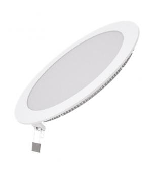 Вбудований світильник Гаусса ультратонкий круглий IP20 18W,225х22, Ø210, 2700K 1200лм 1/20