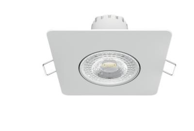 Світильник Гаусса Квадрат. Білий, 6W,90х90х56, Ø65мм 500 Lm LED 2700K 1/40