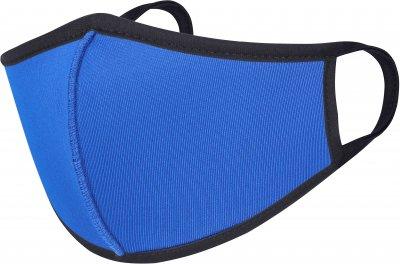 Детская многоразовая защитная маска Anmerino XS/S Синяя с черным (259729836)