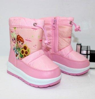 Дутики для девочки HENGLI C1-8 pink розовый