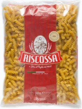 Упаковка макарон Riscossa SPIRALI 500 г х 4 шт (18011780009502_5004)