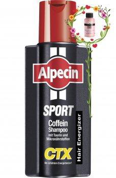 Шампунь Укрепляющий шампунь от выпадения волос Alpecin Sport Coffein Shampoo CTX 250 мл (4008666217660)