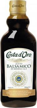 Уксус Costa d'Oro Бальзамический 500 мл (8007270701011)