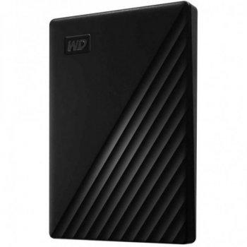 """Зовнішній жорсткий диск 2.5"""" 5TB Western Digital (WDBPKJ0050BBK-WESN)"""