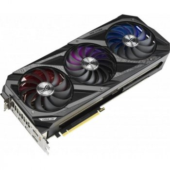 Відеокарта ASUS GeForce RTX3090 24Gb ROG STRIX OC GAMING (ROG-STRIX-RTX3090-O24G-GAMING)