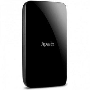 """Зовнішній жорсткий диск 2.5"""" 3TB Apacer (AP3TBAC233B-S)"""