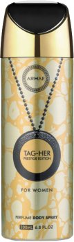 Дезодорант для женщин Armaf Tagher Prestige 200 мл (6085010093918)