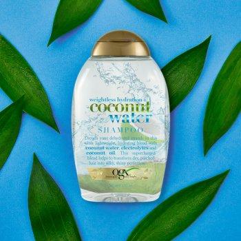Шампунь OGX Coconut Water Невагоме зволоження з кокосовою водою 385 мл (0022796974310)
