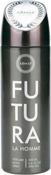 Дезодорант для мужчин Armaf Futura La Homme 200 мл (6085010040844)