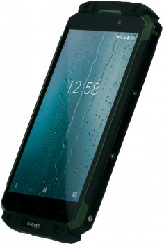 Мобильный телефон Sigma mobile X-treme PQ39 Ultra Black-Green