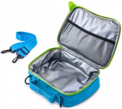 Термосумка Trunki Terrance Дитяча сумка для подорожей для сендвічів Trunki Блакитна