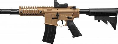 Гвинтівка пневматична Crosman кал. 4.5 мм Bushmaster MPW з коліматорним прицілом (BMPWX)