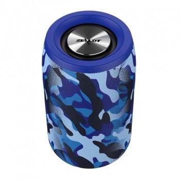 Бездротова Bluetooth колонка Zealot S32 Синій камуфляж