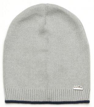 Демисезонная шапка Модный карапуз 03-00923 48-50 см Светло-серая (4824127139230)