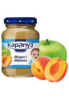 """Пюре Карапуз """"Яблуко та абрикос"""", 200 м"""