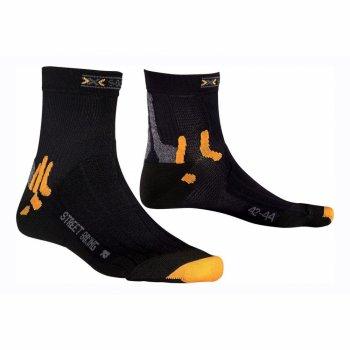 Термоноски X-Socks Street Biking Socks цвет X01 (X20001)